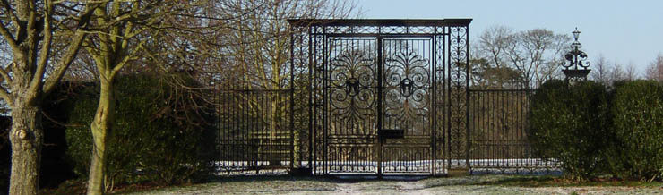 Tijou Gates at Petworth